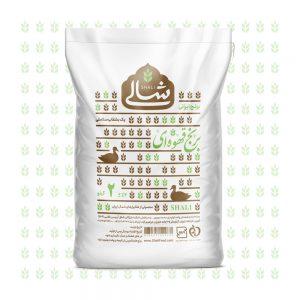 برنج قهوه ای دو کیلویی شالی