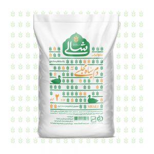 برنج دم سیاه مجلسی دو کیلویی شالی