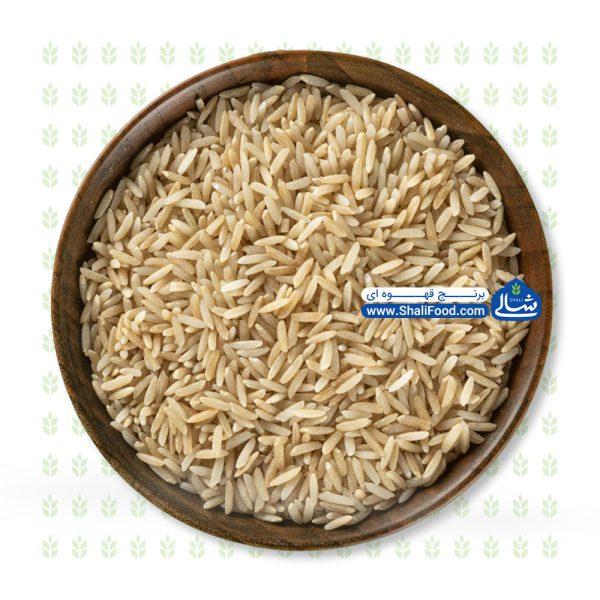برنج قهوه ای شالی